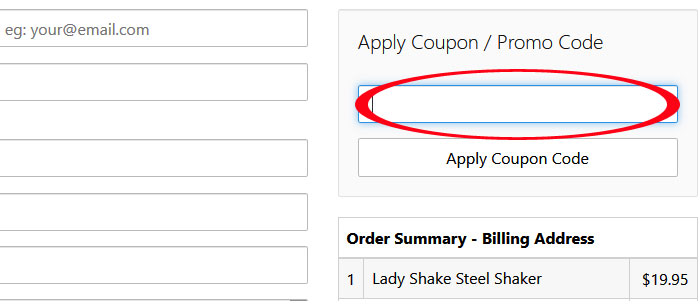 The Lady Shake Coupon Code Australia for September 2019